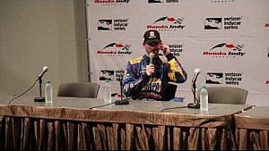 Post Honda Indy Toronto news conference: Alexander Rossi