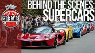 Behind the scenes: stunning supercars at FOS