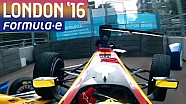 Crash in Formule E-finale tussen Sebastien Buemi en Lucas di Grassi