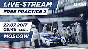 DTM Moskau: 2. Training
