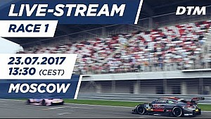 Live: Race 2 - DTM Moscow 2017