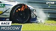 DTM Moskau: Brennende Bremsen