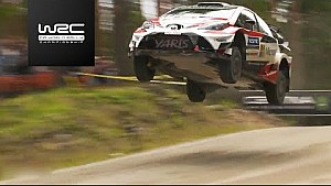 【WRC】フィンランドSS8〜SS11:ハイライト