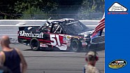 Kyle Busch wrecks at Pocono