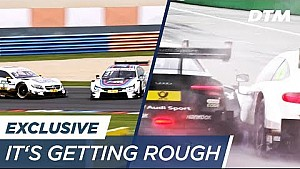 It's getting rough! The atmosphere intensifies at the DTM