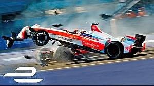 Все главные аварии третьего сезона Формулы Е