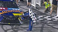 Kyle Busch breaks out the broom after victory