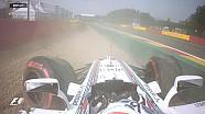 GP de Belgique - Massa sort et tape fort