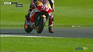 Cara mengerem yang baik dari Marquez! #BritishGP