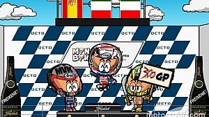 El GP de Gran Bretaña de MotoGP según los MiniBikers