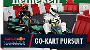 Footballers vs racers: Go-Karting on the grid In Monza