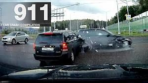 Recopilación de accidente de coche 911 - septiembre de 2017
