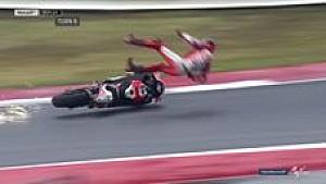 MotoGP: Kecelakaan Lorenzo saat pimpin #SanMarinoGP