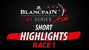Blancpain GT Series Asia - Shanghai - Race 1 short highlights