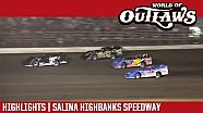 World of Outlaws Craftsman late models Salina Highbanks speedway September 23, 2017 | Highlights
