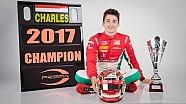 Charles Leclerc triunfa en la FIA Fórmula 2