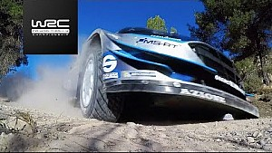 Rallye Spanien: Action-Highlights