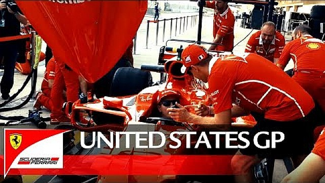 United States Grand Prix - Behind the scenes