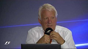 Conferencia de la F1 y FIA - Charlie Whiting – 27.10.17