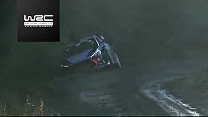WRC Wales, Action-Highlights