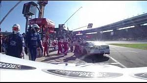 Trevor Bayne pit stop en Texas Motor Speedway.