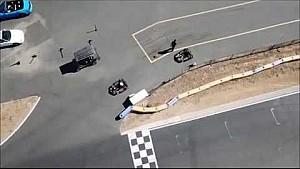 Romain Grosjean s'amuse en karting