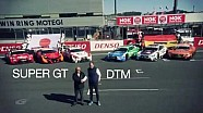 Super GT vs DTM di seri final Motegi