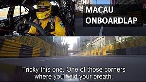 Circuito urbano de Macao a bordo vuelta con Tom Coronel, 2017 Chevrolet Cruze WTCC