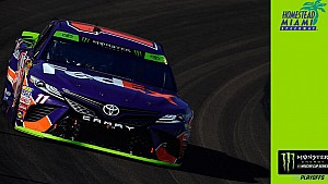 Denny Hamlin steals Coors Light Pole from Truex Jr.