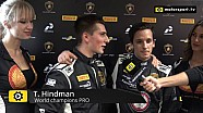 Lamborghini Super Trofeo World Final Pro+Pro Am Race 2 - Interview with Hindman and Agostini