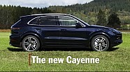 The new Porsche Cayenne: facts & figures  (documentary)