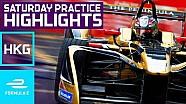 Aspectos destacados de la práctica dominical de Hong Kong E-Prix 2017 - Fórmula E