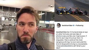 Lewis Hamilton: A message from Nick Heidfeld!