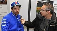 Andrea Iannone al Meet di Motorsport.com