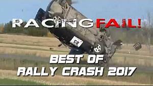 Teaser best of rally crash 2017 Racingfail!