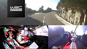 RallyRACC Catalunya: Onboard Meeke SS17