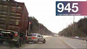 Car crash compilation 945 - December 2017