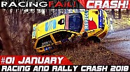 Compilación de Racing and rally crash semana 1 enero 2018 | Racingfail