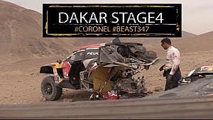 ¡La bestia está volando! Etapa 4, Dakar 2018