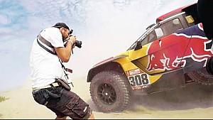 Lo qué se necesita para ser fotógrafo del Dakar con Marcelo Maragni