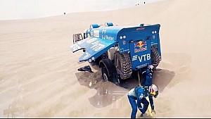 Dentro del camión Kamaz | Dakar 2018