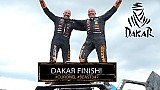 Dakar 2018: Tim en Tom Coronel aan de finish in de Dakar