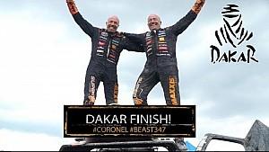 Los Coronel llegan al final del Dakar