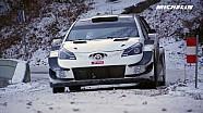 Esapekka Lappi en essais pour le Rallye Monte-Carlo