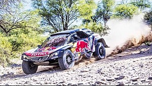What happened at Dakar rally 2018.