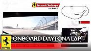 Uma volta a bordo de uma Ferrari 488 Challenge em Daytona