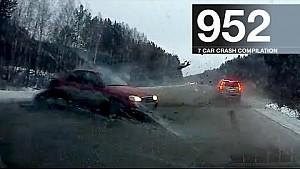 Compilación de accidentes automovilísticos 952 - enero de 2017