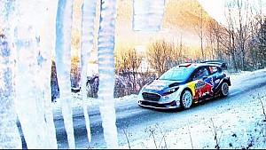 Les préparatifs de Sébastien Ogier pour le Rallye Monte-Carlo
