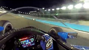 Visor cam: Scott Dixon windscreen test at ISM raceway