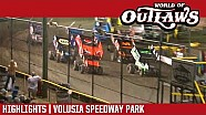 World of Outlaws Craftsman sprint cars Volusia Speedway park February 10th, 2018 | Highlights